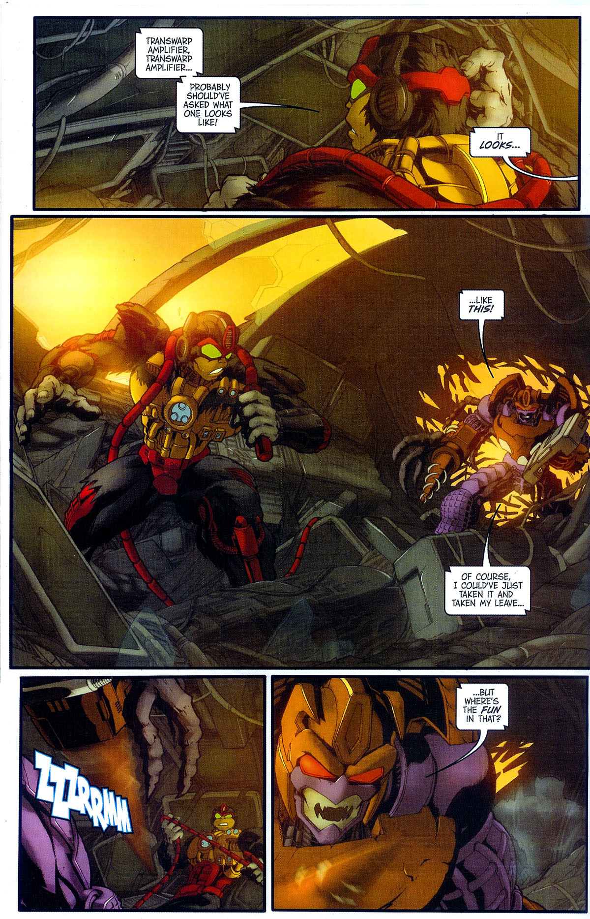 Read online Transformers, Beast Wars: The Gathering comic -  Issue #2 - 19