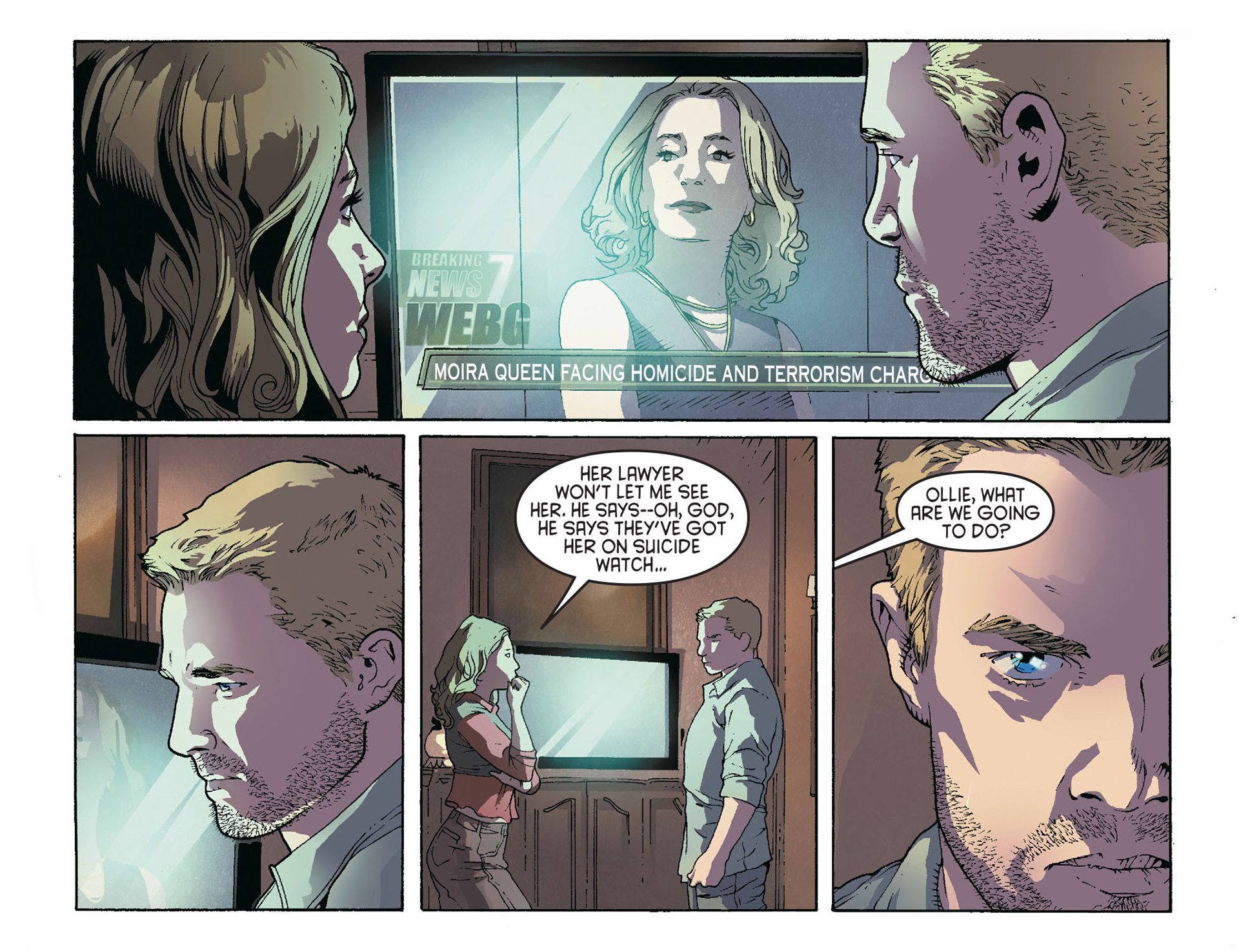 Read online Arrow [II] comic -  Issue #36 - 10