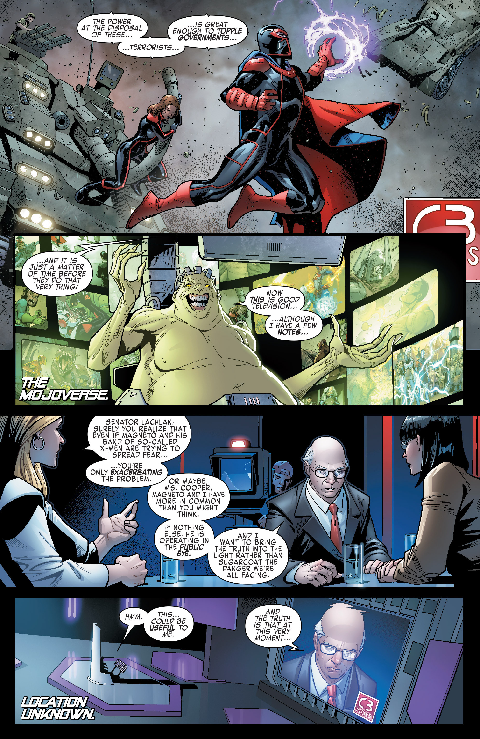 Read online Uncanny X-Men (2016) comic -  Issue #6 - 26