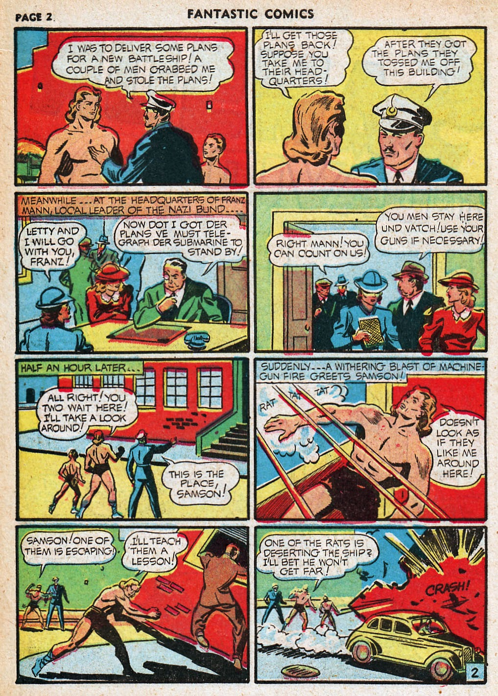 Read online Fantastic Comics comic -  Issue #20 - 3