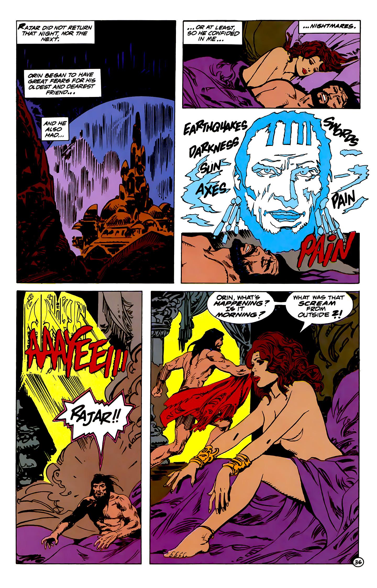 Read online Atlantis Chronicles comic -  Issue #1 - 36