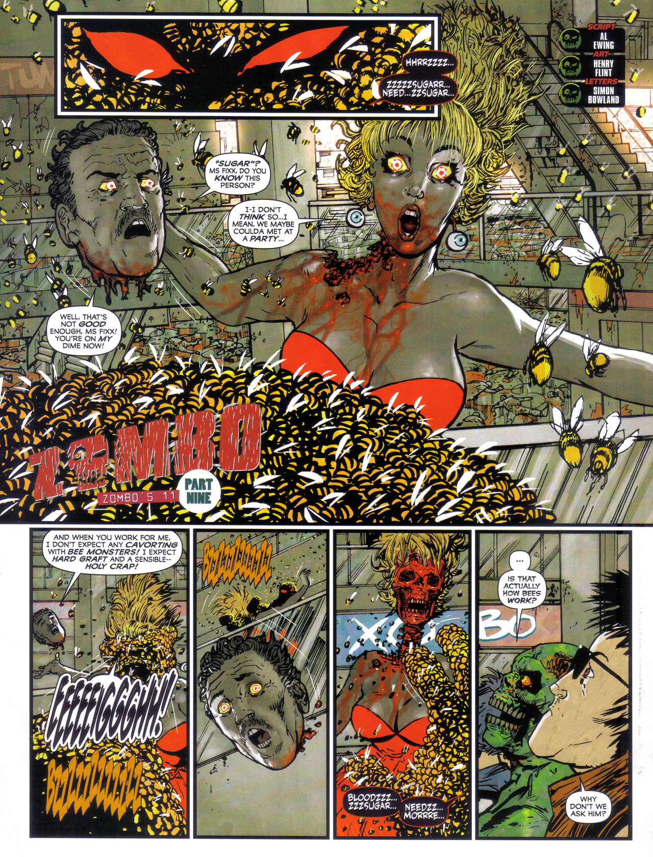 Read online 2000 AD comic -  Issue #1746 - 81