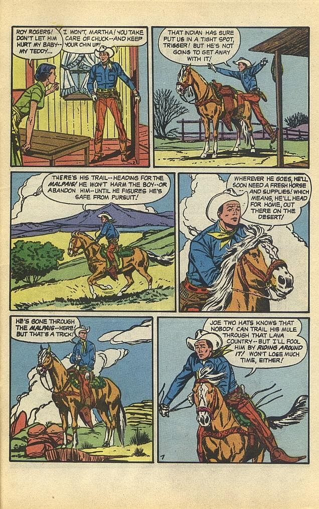 Read online Roy Rogers comic -  Issue #1 - 40