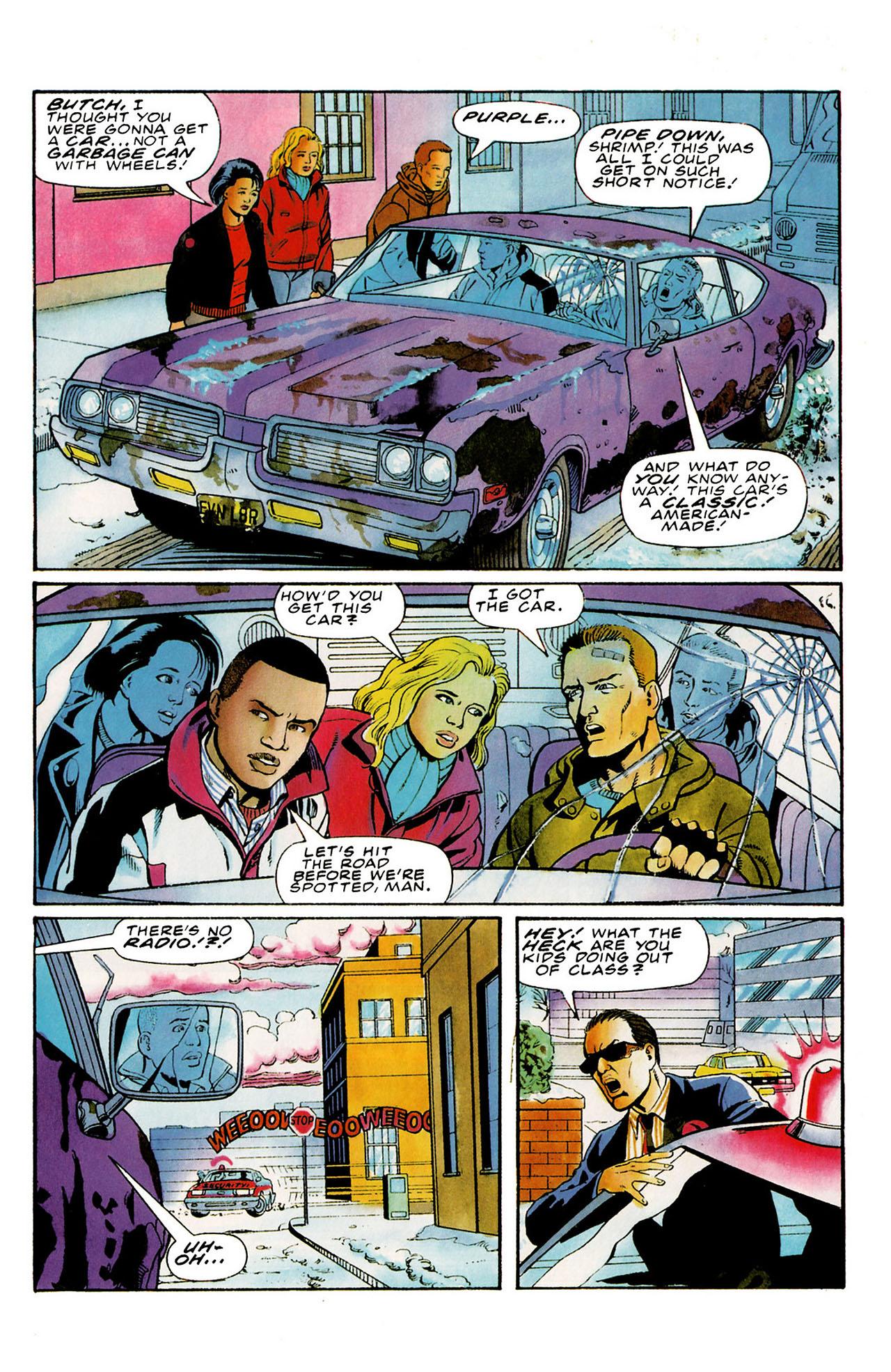 Read online Harbinger (1992) comic -  Issue #27 - 4