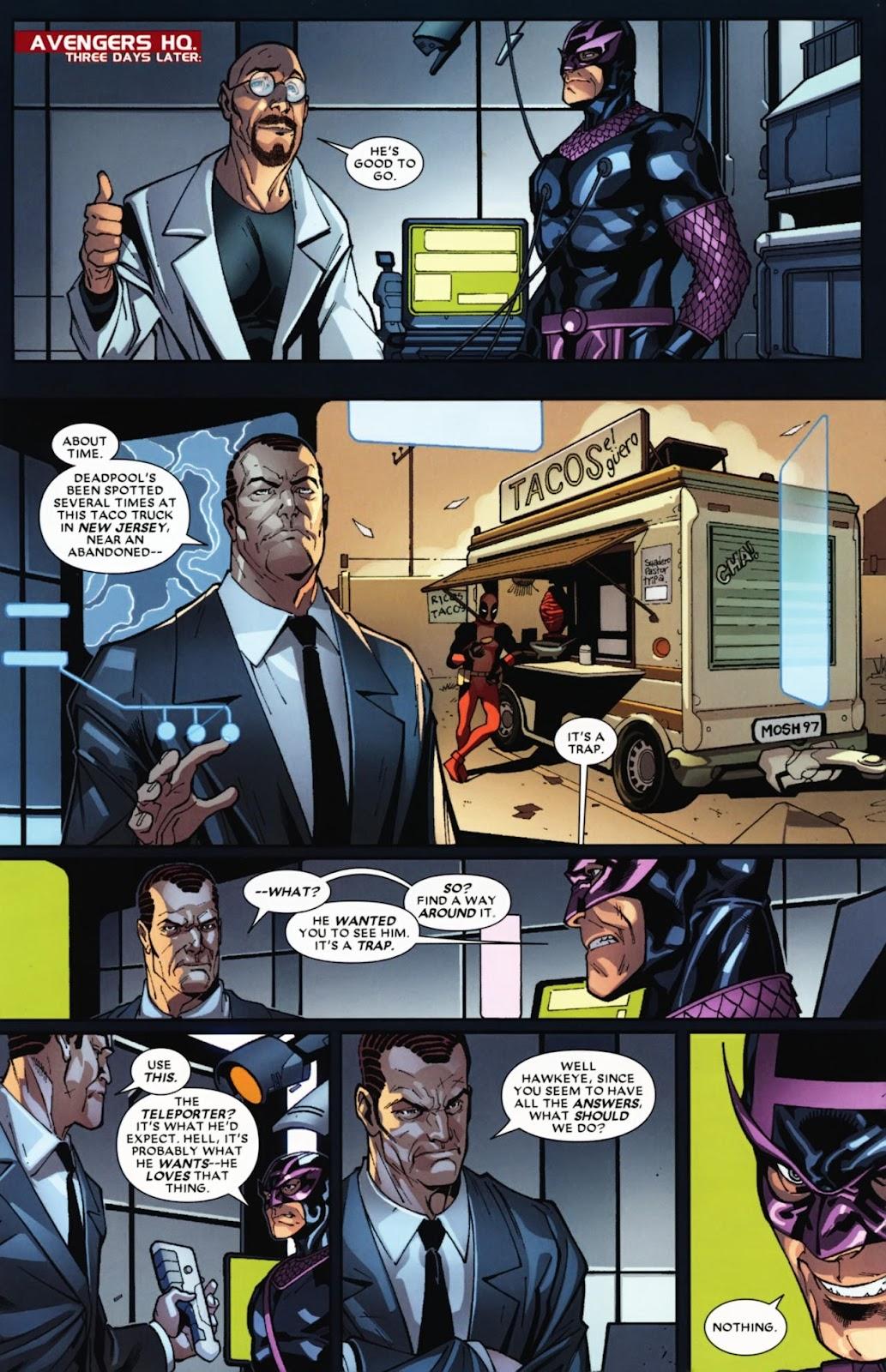 Read online Deadpool (2008) comic -  Issue #12 - 9