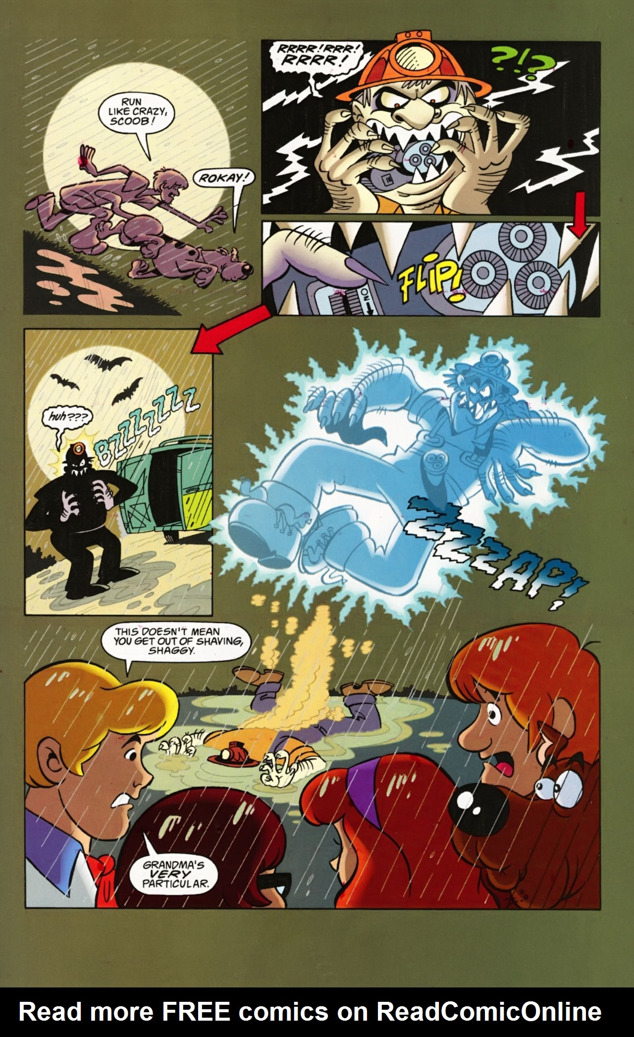 Read online Scooby-Doo: Where Are You? comic -  Issue #1 - 23