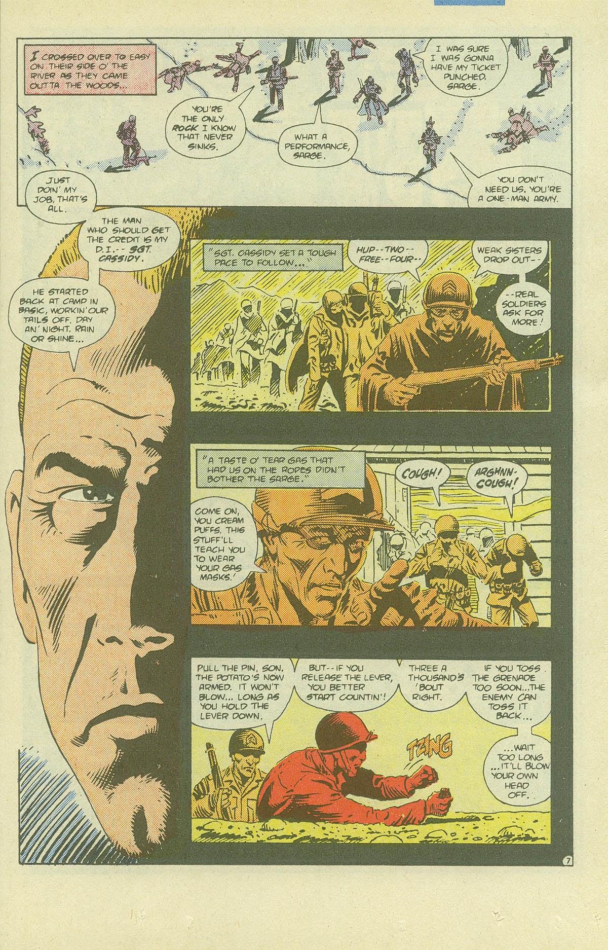Read online Sgt. Rock comic -  Issue #411 - 10