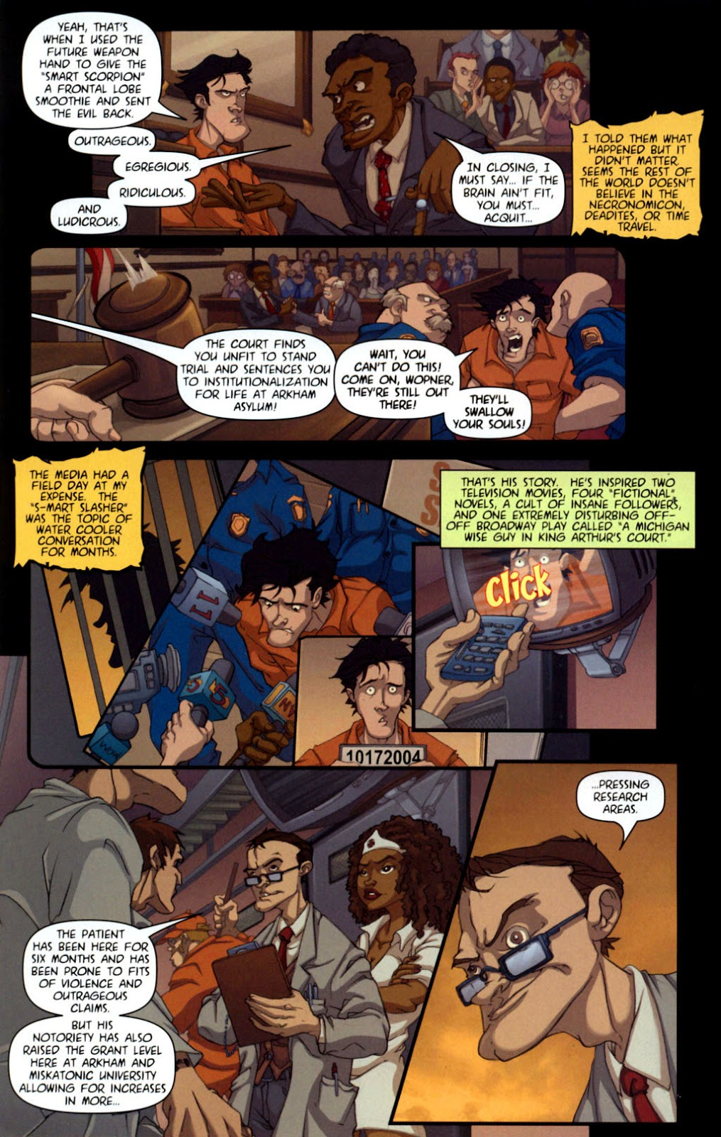Army of Darkness vs. Re-Animator Issue #1 #1 - English 7