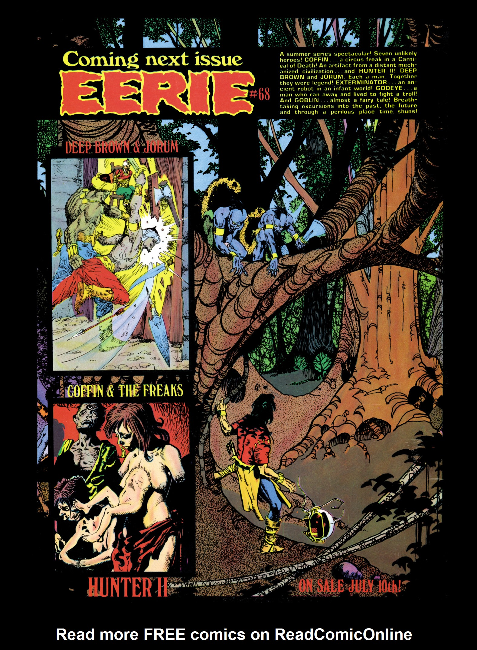 Read online Eerie Archives comic -  Issue # TPB 14 - 199