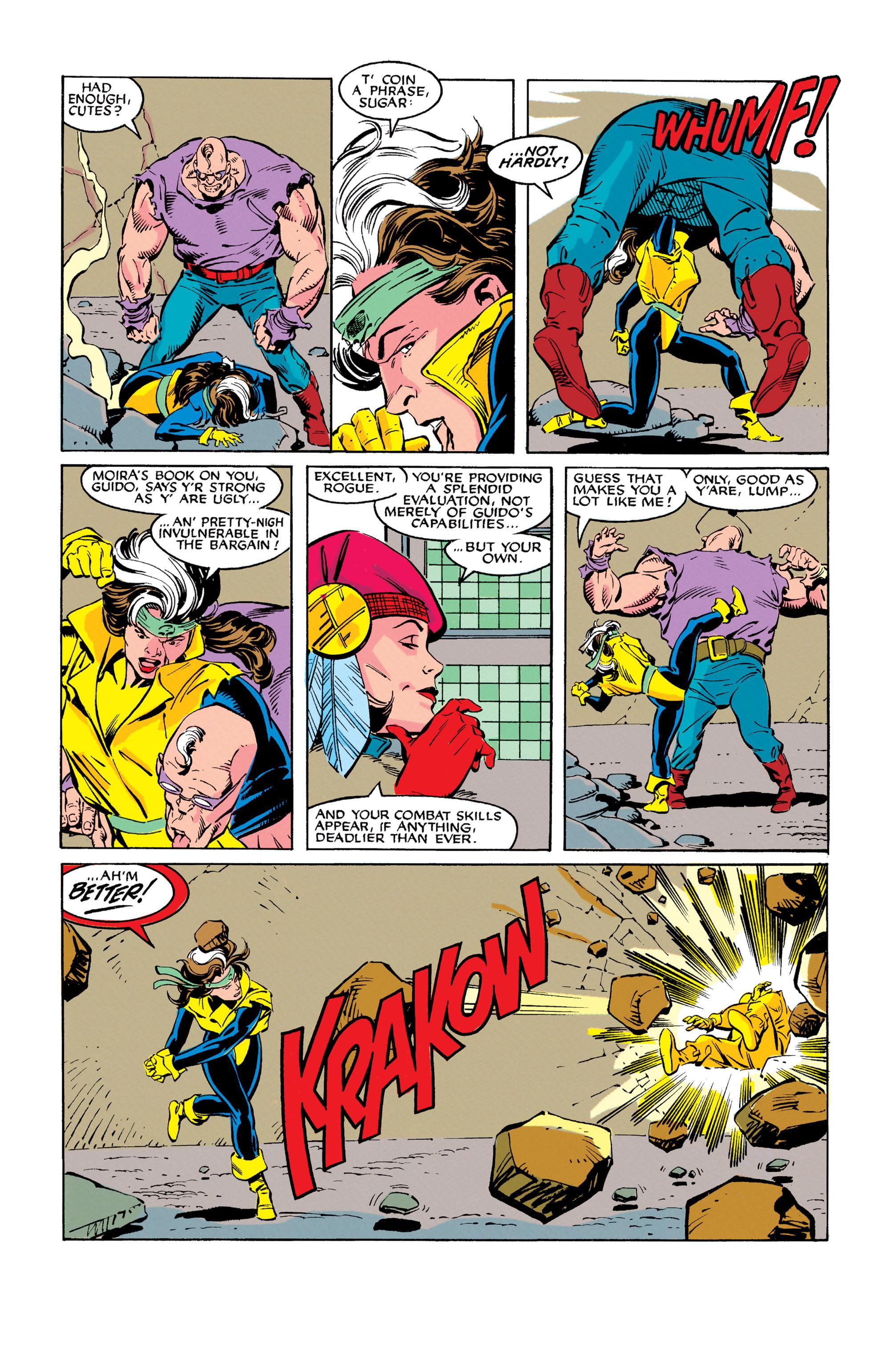 Read online Uncanny X-Men (1963) comic -  Issue #278 - 10