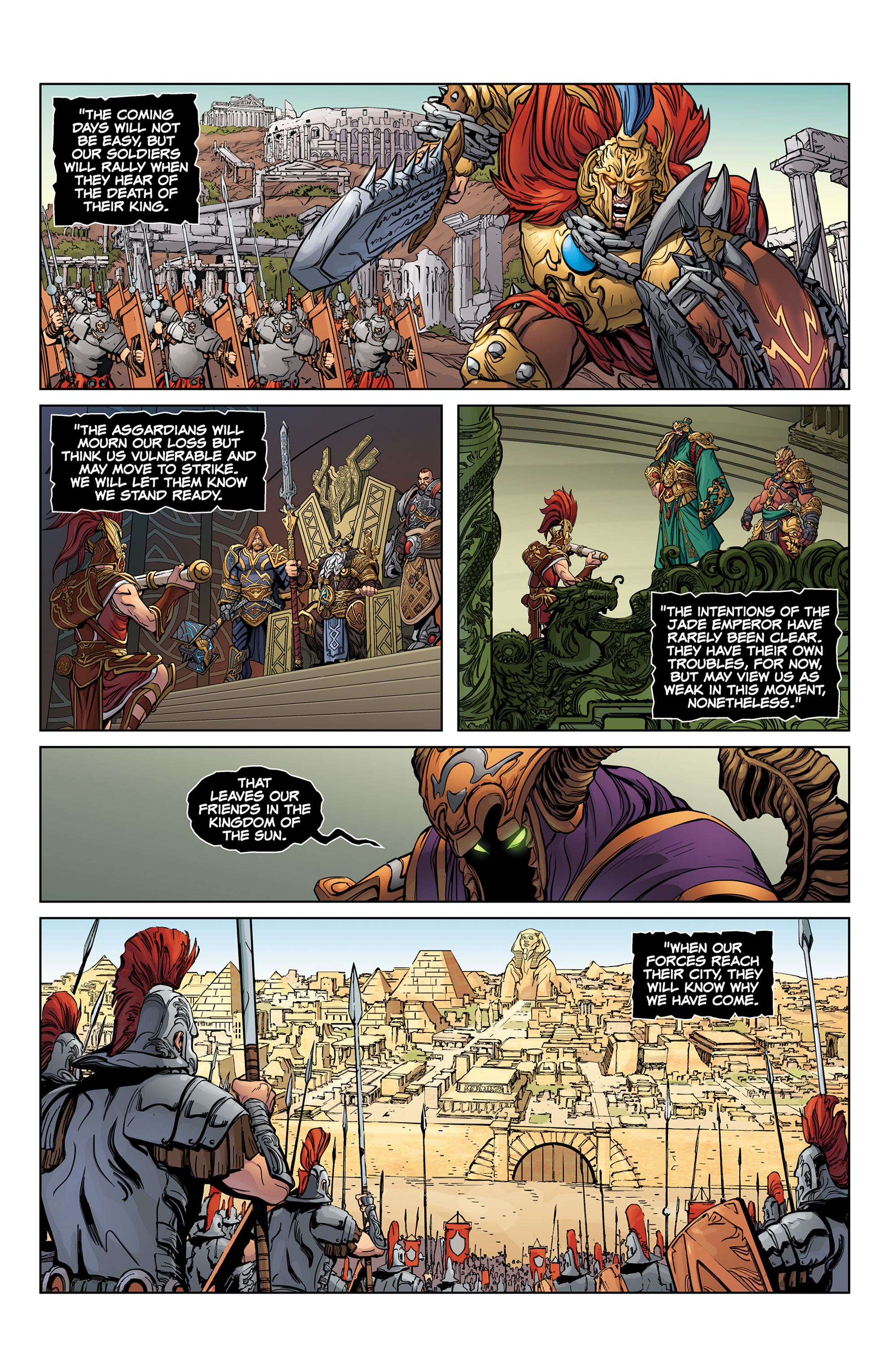Read online SMITE: The Pantheon War comic -  Issue #1 - 20