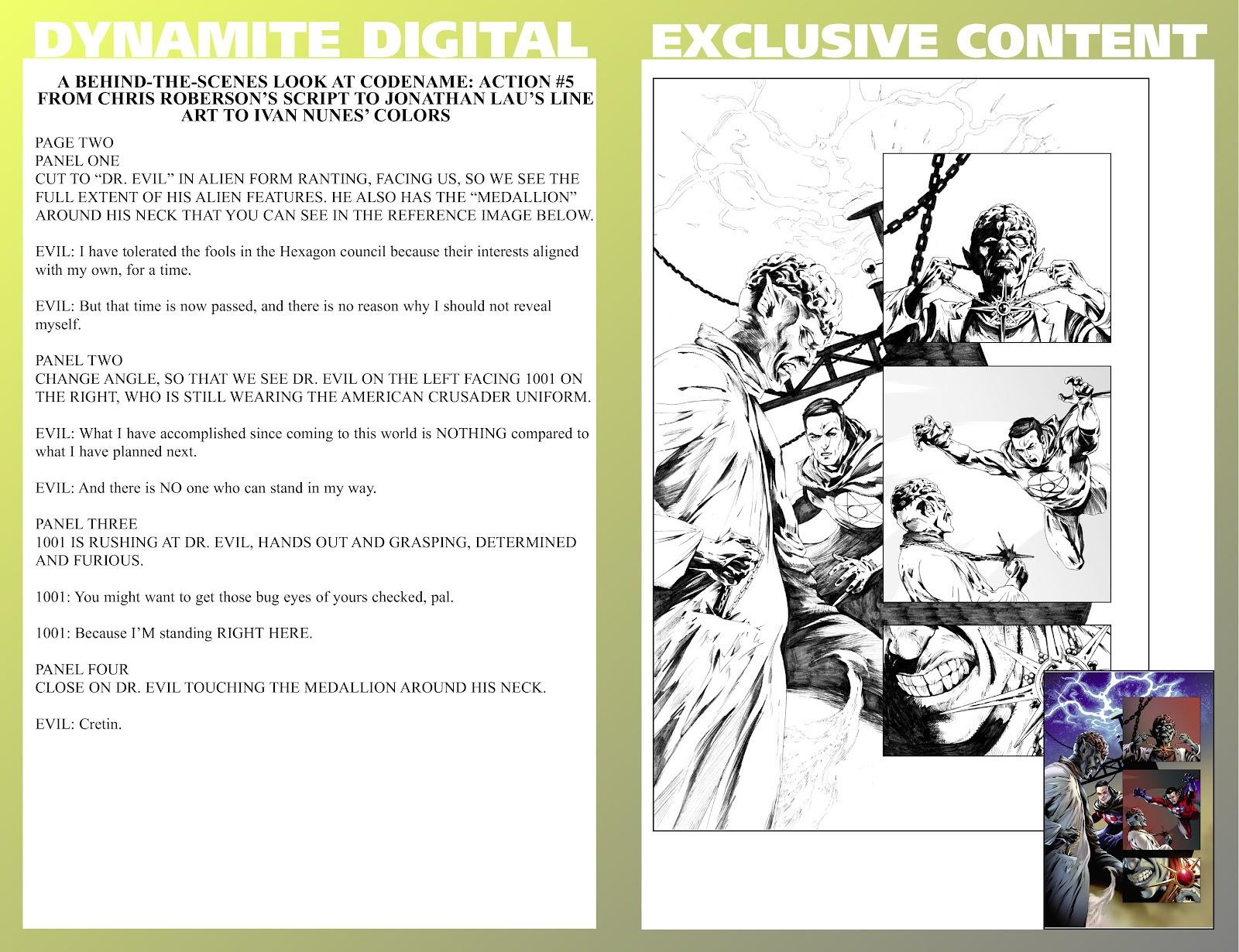Read online Codename: Action comic -  Issue #5 - 29