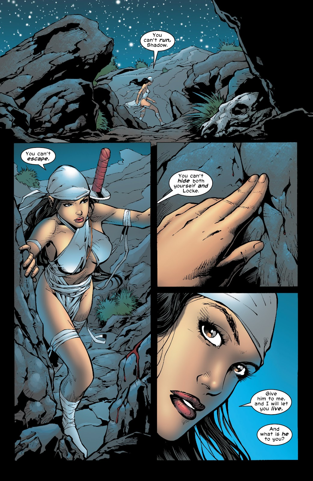 Read online Elektra (2001) comic -  Issue # _TPB Elektra by Greg Rucka Ultimate Collection (Part 4) - 71