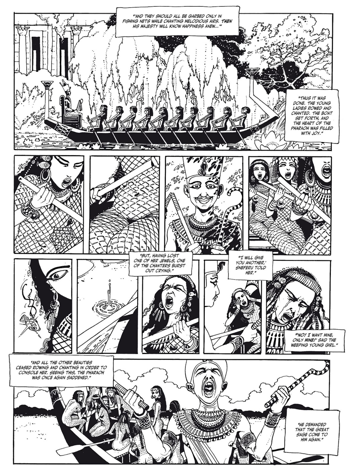 Read online The Egyptian Princesses comic -  Issue # TPB 1 (Part 1) - 62