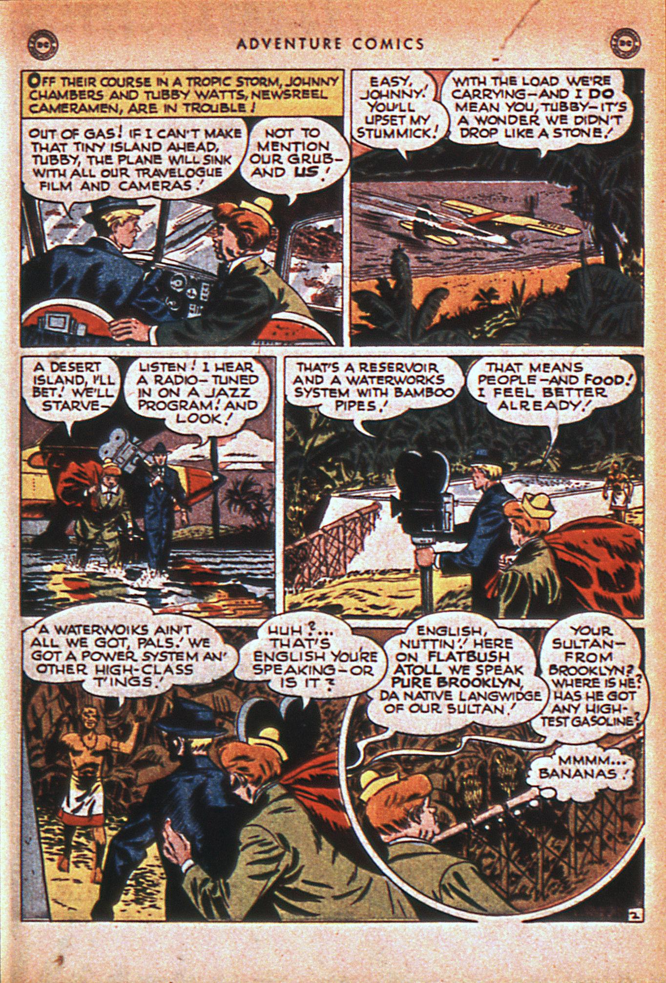 Read online Adventure Comics (1938) comic -  Issue #116 - 42