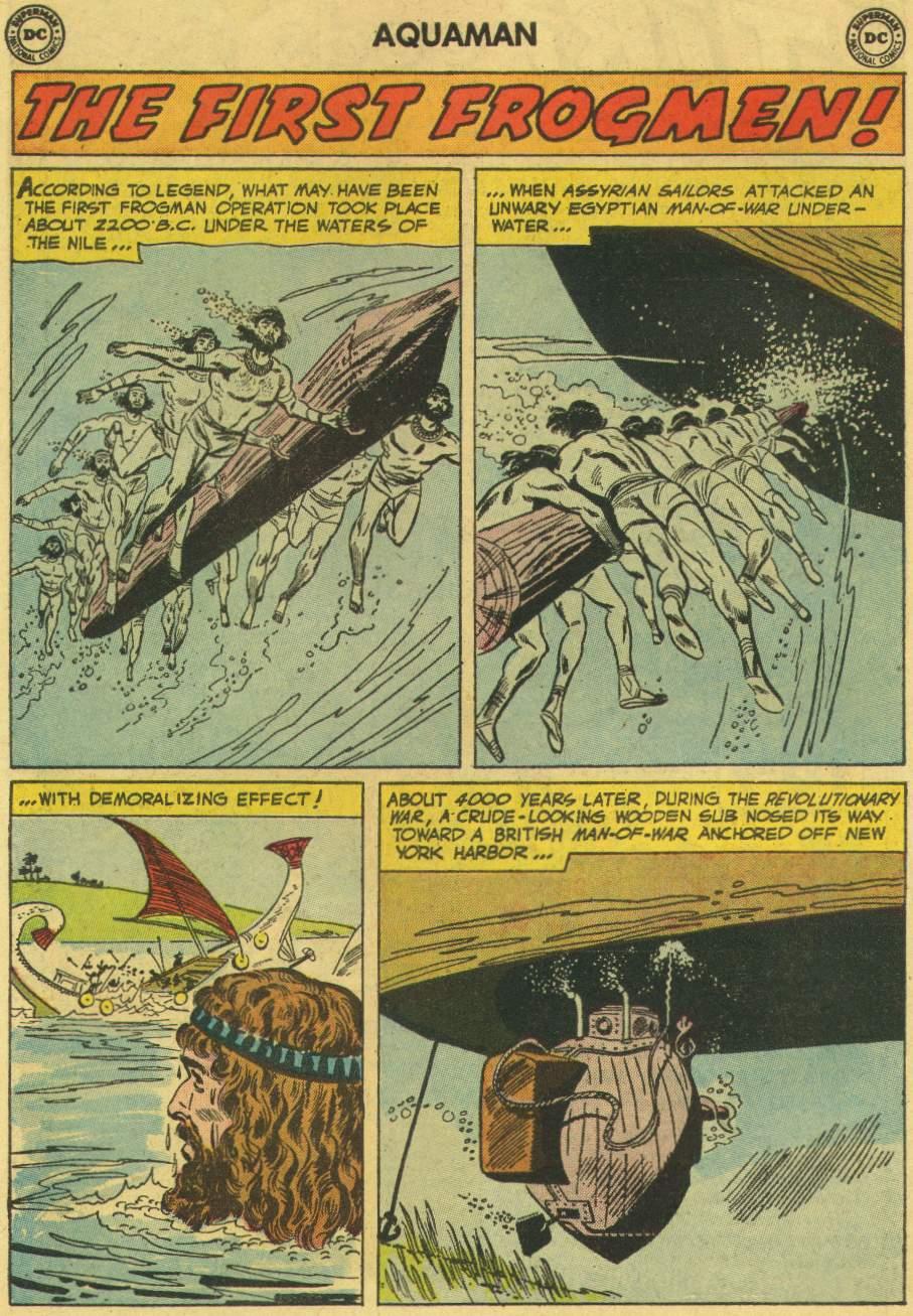 Read online Aquaman (1962) comic -  Issue #6 - 22