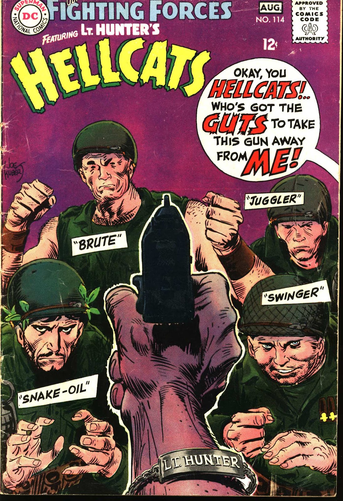 Our Fighting Forces (1954) issue 114 - Page 1