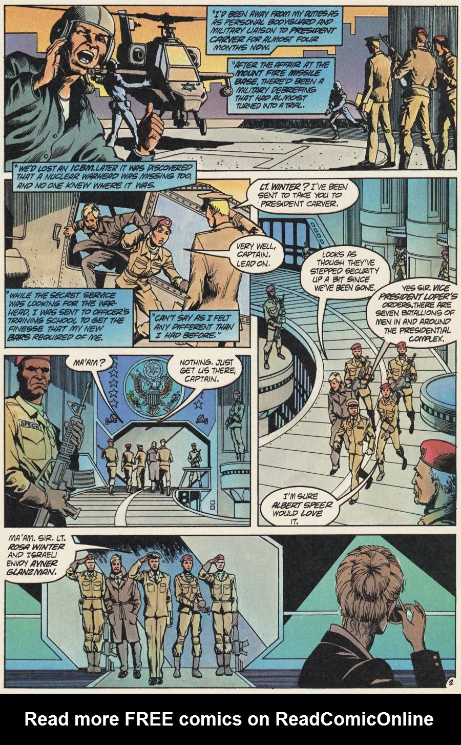 Read online Scout comic -  Issue #20 - 12