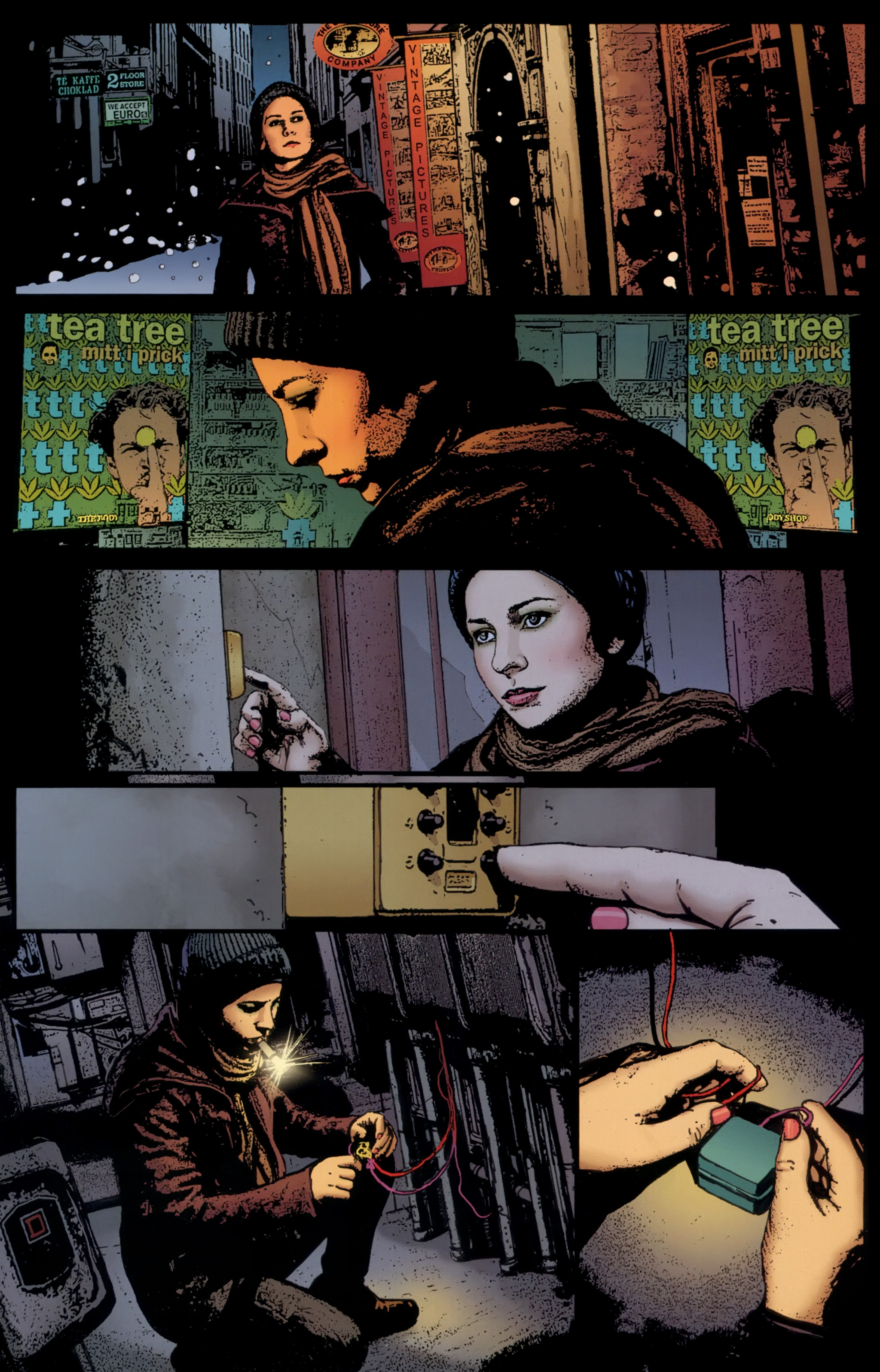 Read online The Girl With the Dragon Tattoo comic -  Issue # TPB 1 - 65