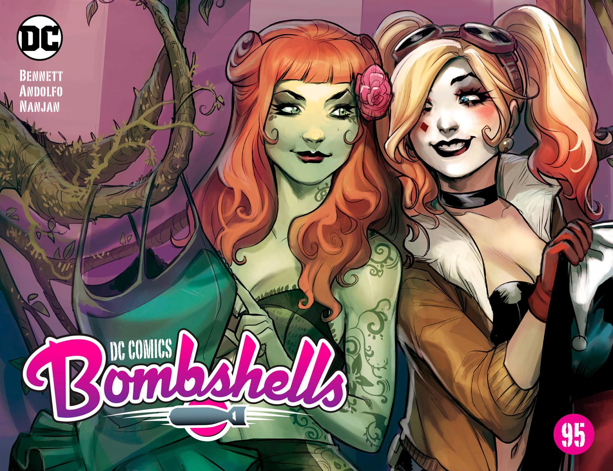 Read online DC Comics: Bombshells comic -  Issue #95 - 1