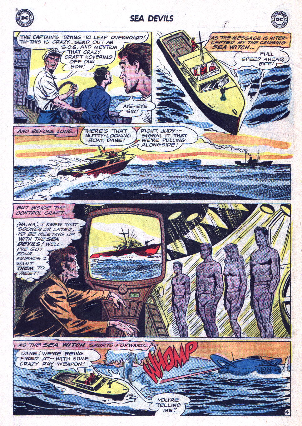 Read online Sea Devils comic -  Issue #19 - 6