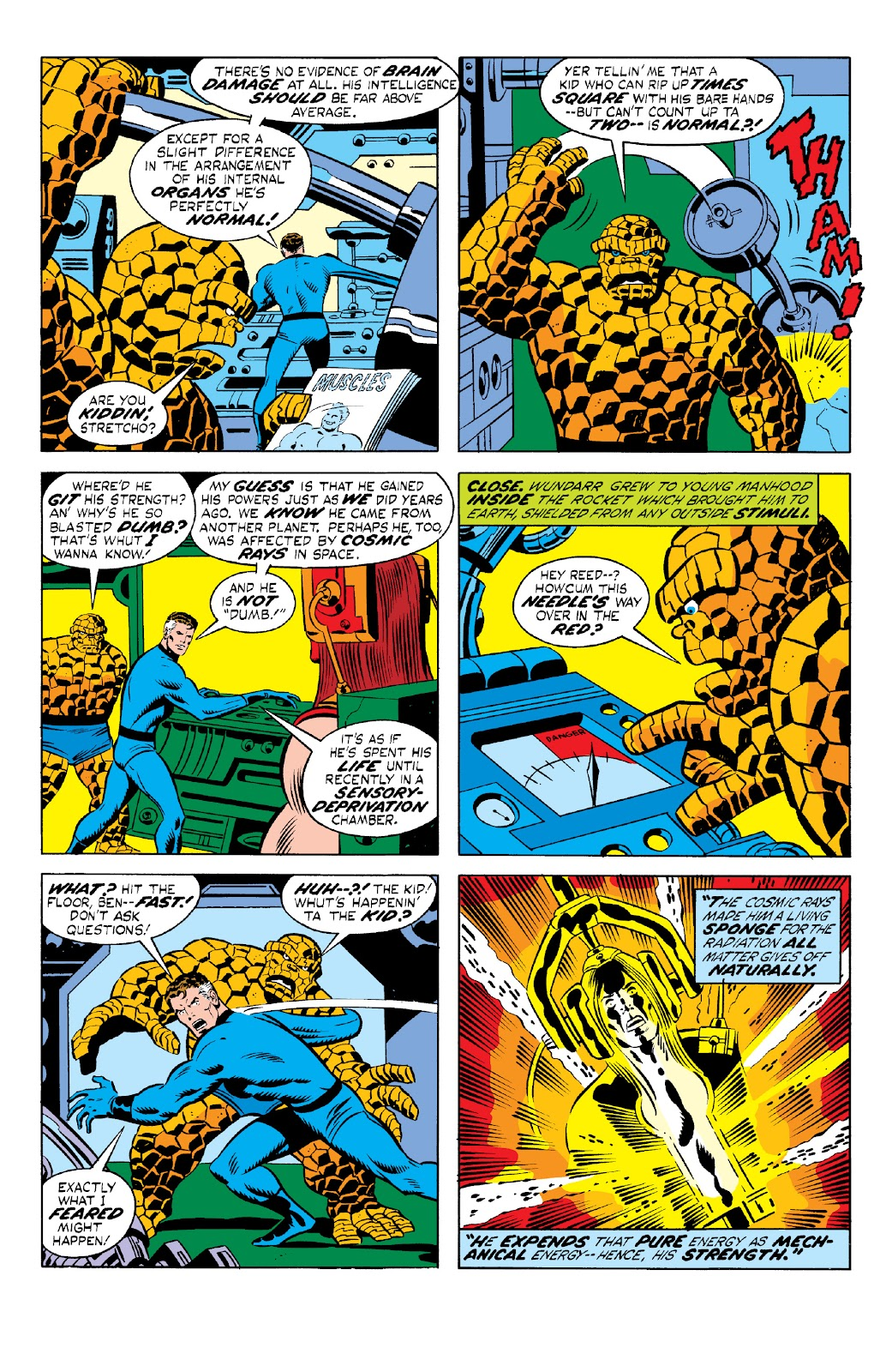Read online Marvel Two-In-One Epic Collection: Cry Monster comic -  Issue # TPB (Part 1) - 87