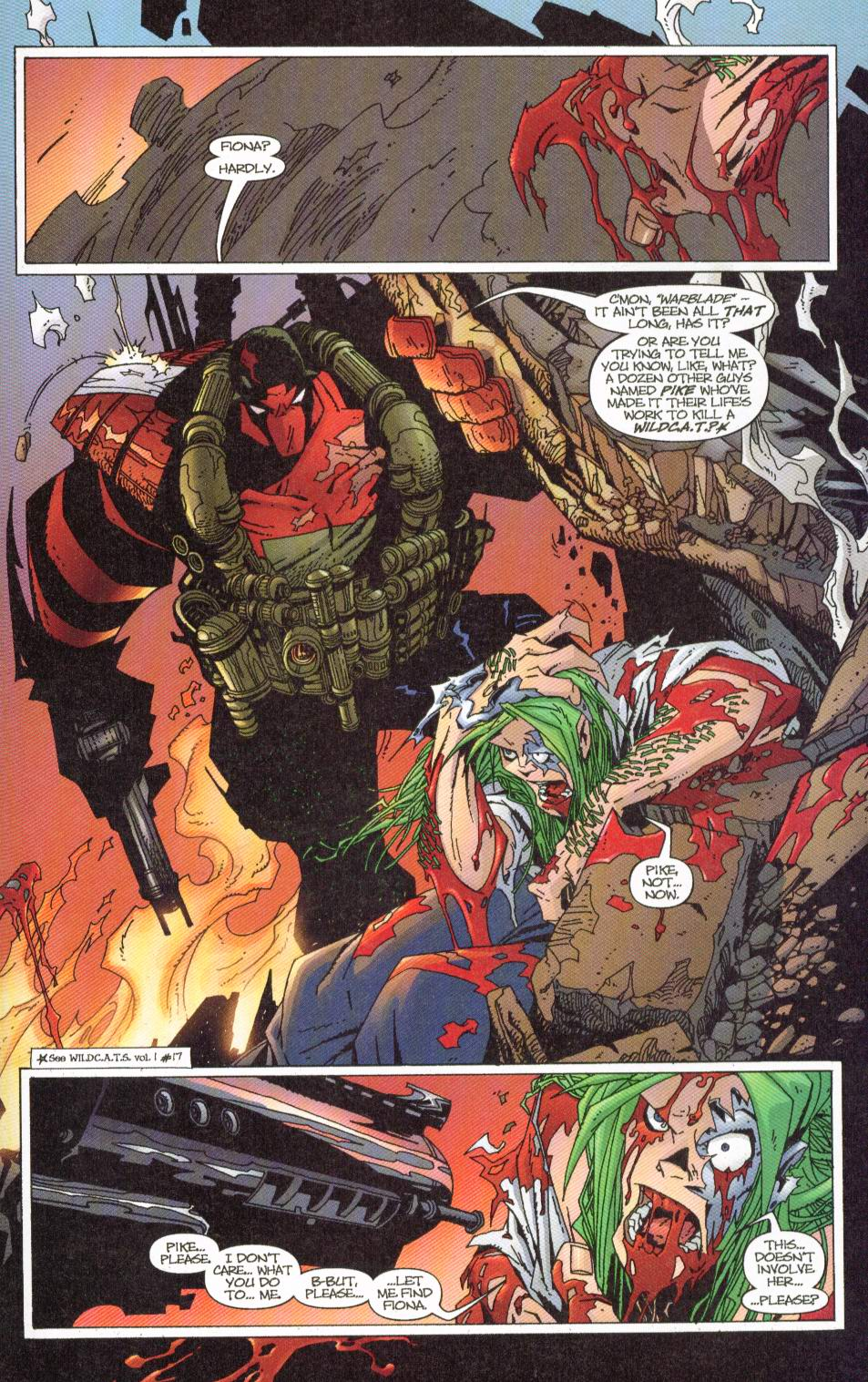 Wildcats (1999) Issue #7 #8 - English 16