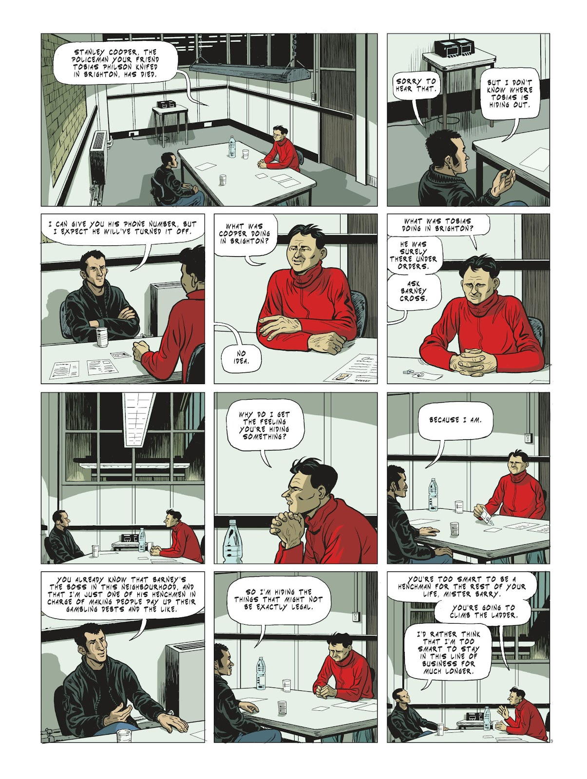 Read online Maggy Garrisson comic -  Issue #3 - 11