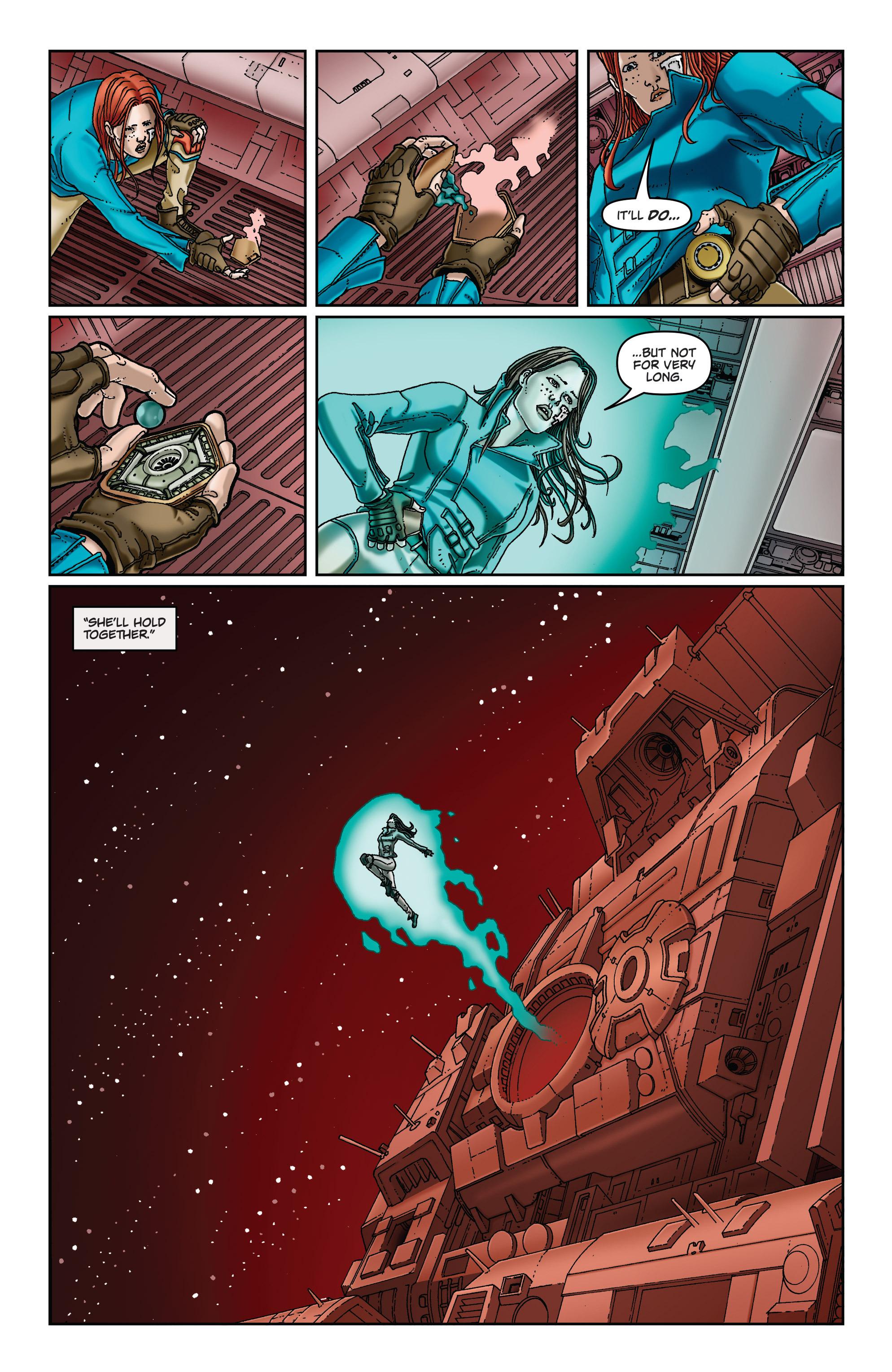 Read online Satellite Falling comic -  Issue #5 - 6