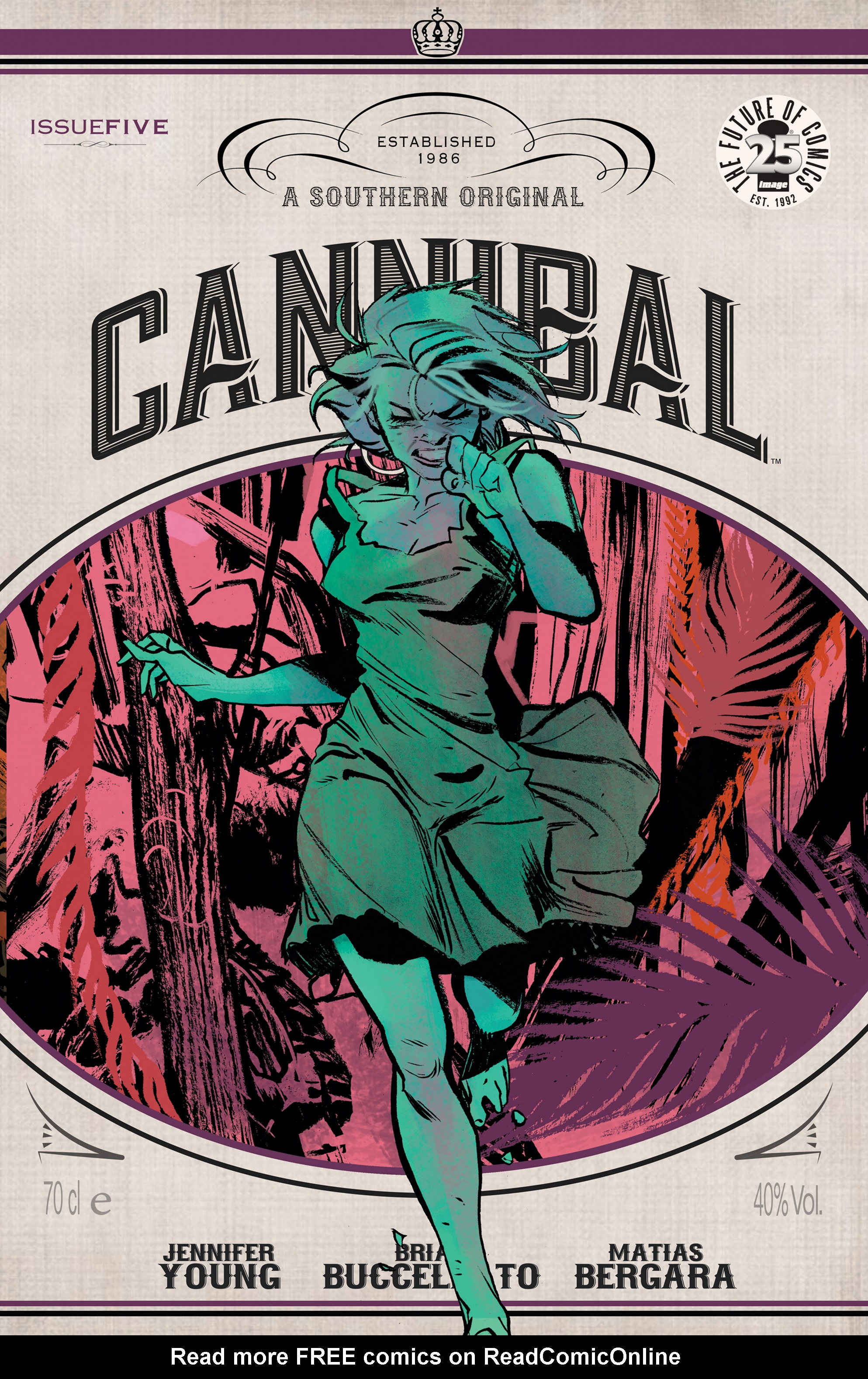 Read online Cannibal comic -  Issue #5 - 1