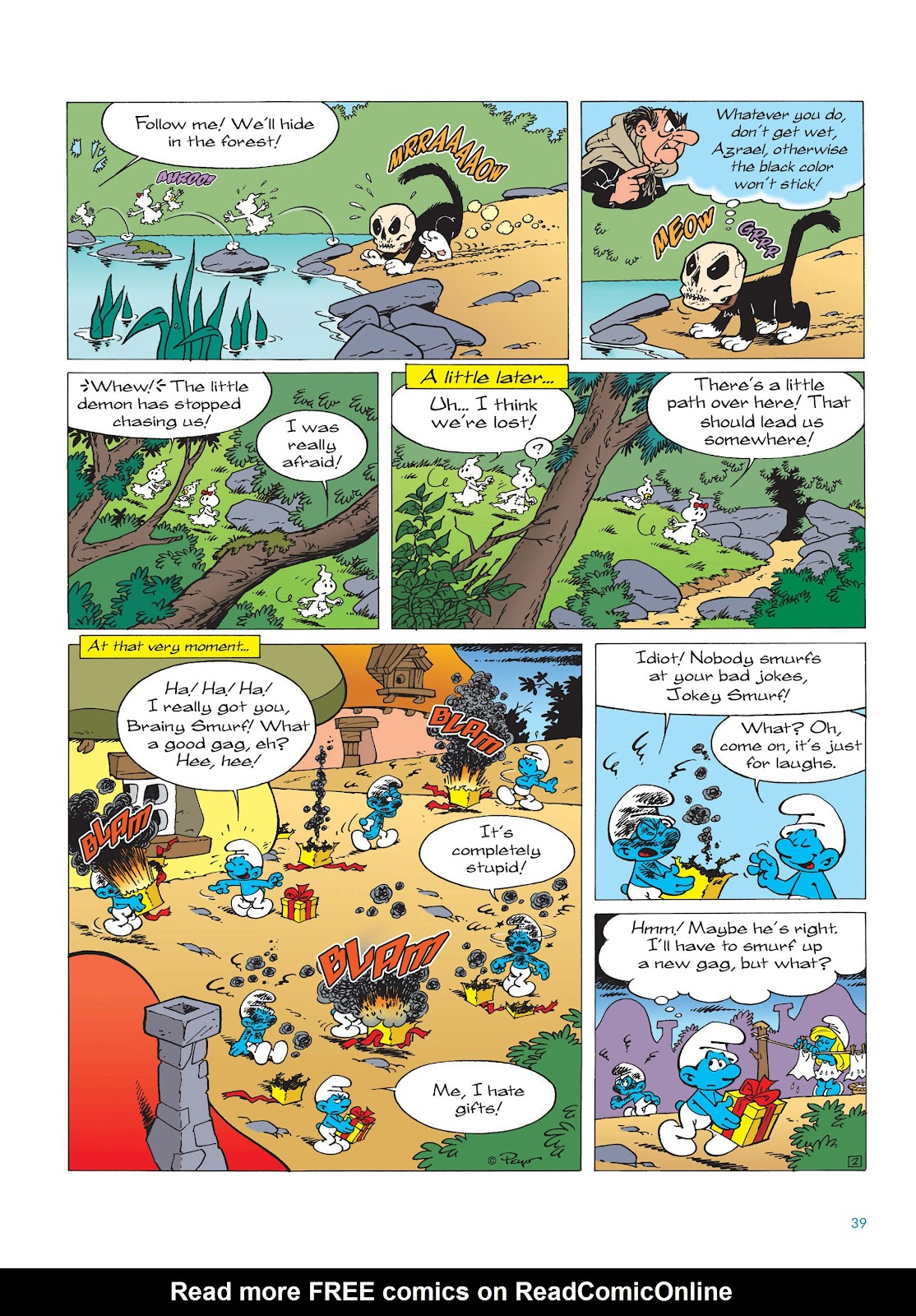 Read online The Smurfs comic -  Issue #15 - 40