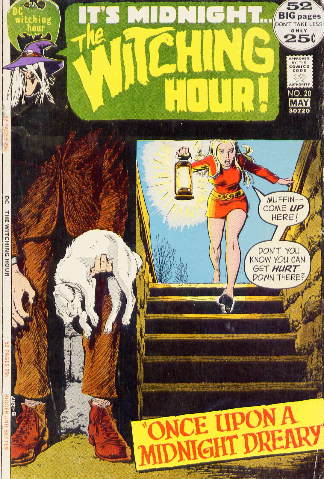 The Witching Hour (1969) issue 20 - Page 1