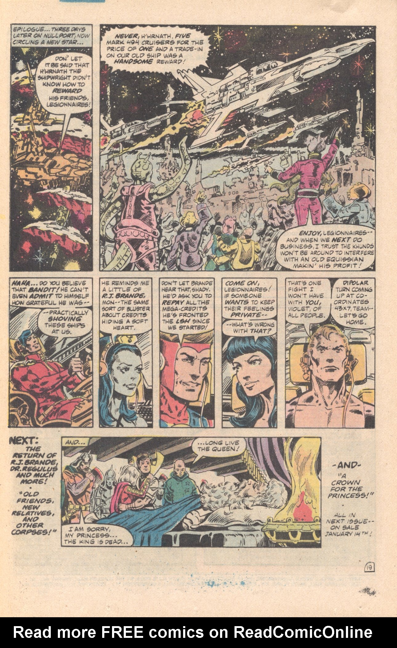 Legion of Super-Heroes (1980) 285 Page 19