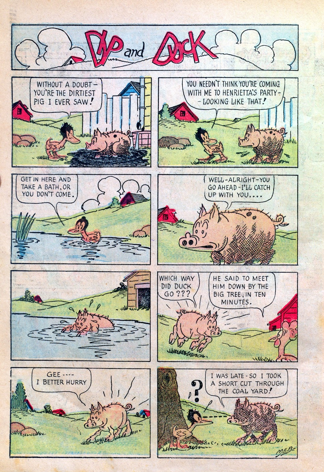 Read online Famous Funnies comic -  Issue #6 - 58