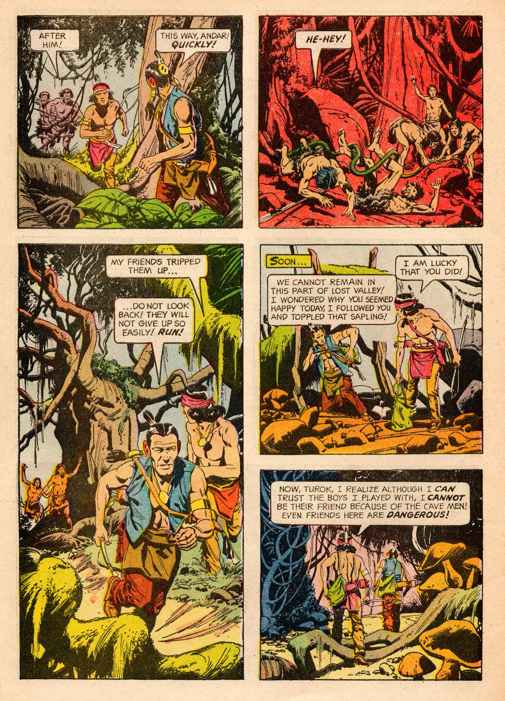 Read online Turok, Son of Stone comic -  Issue #33 - 34