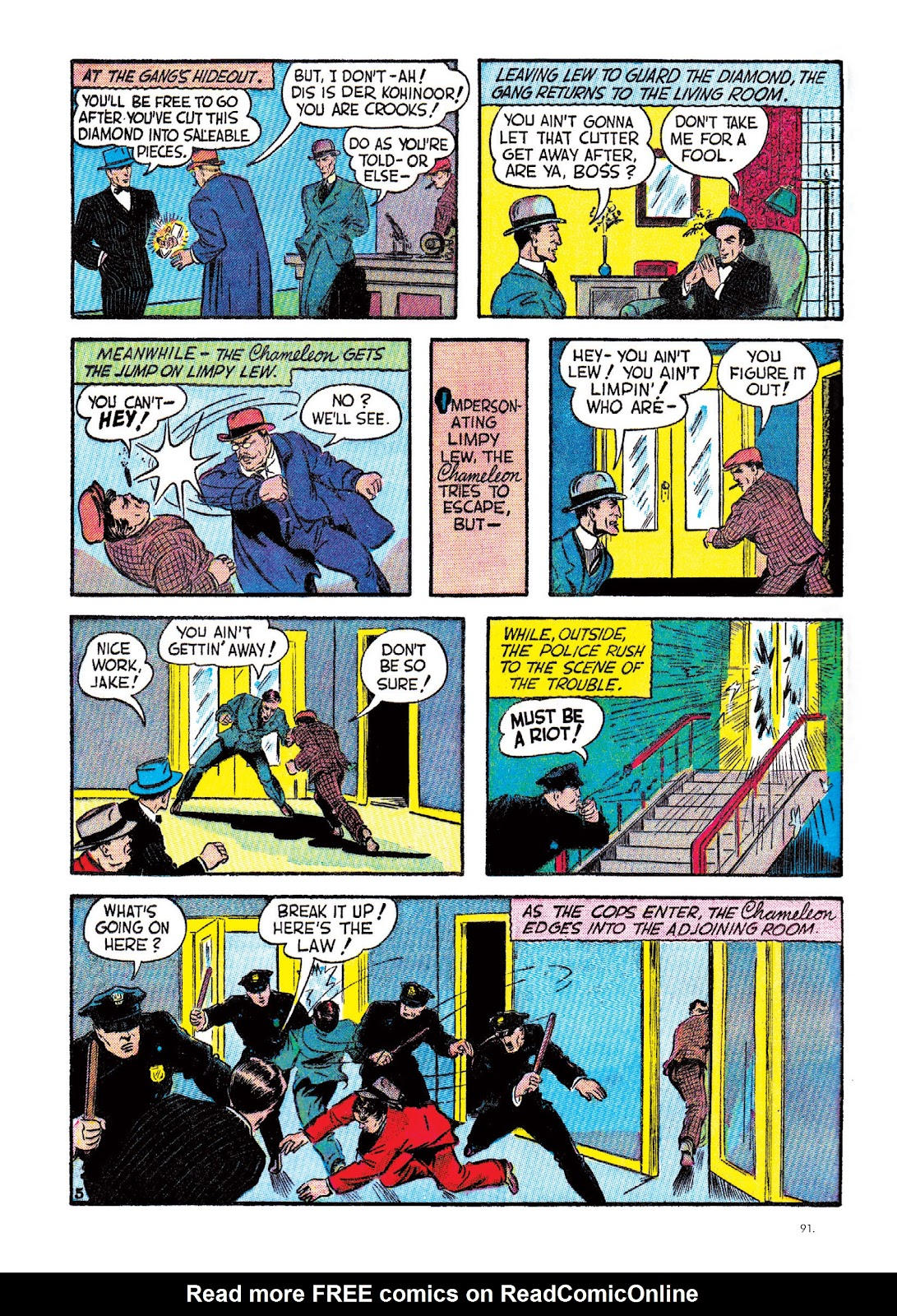 Read online The Bill Everett Archives comic -  Issue # TPB 2 (Part 1) - 92