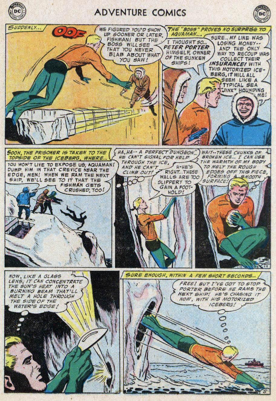 Read online Adventure Comics (1938) comic -  Issue #236 - 21
