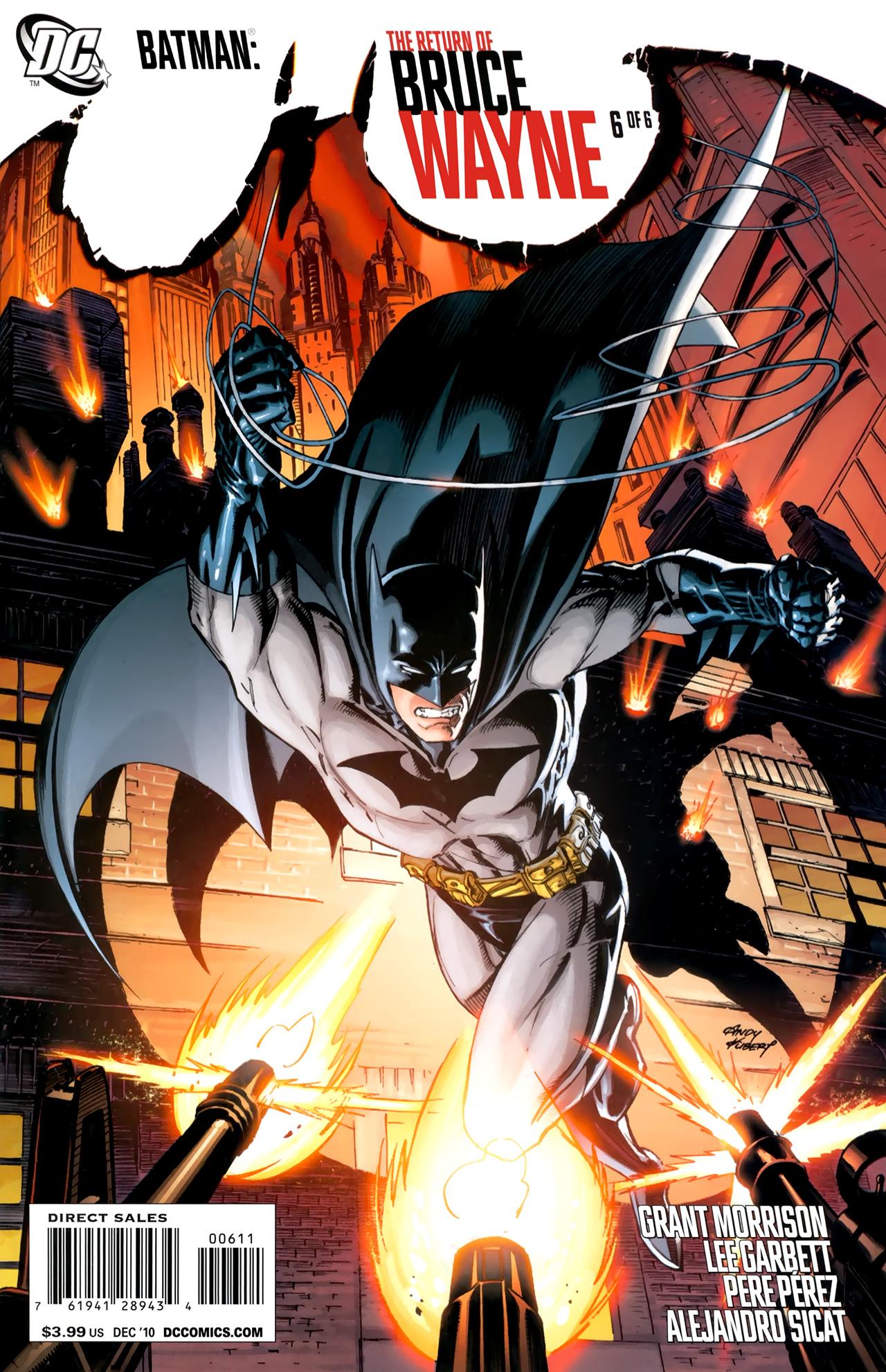 Batman: The Return of Bruce Wayne 6 Page 1