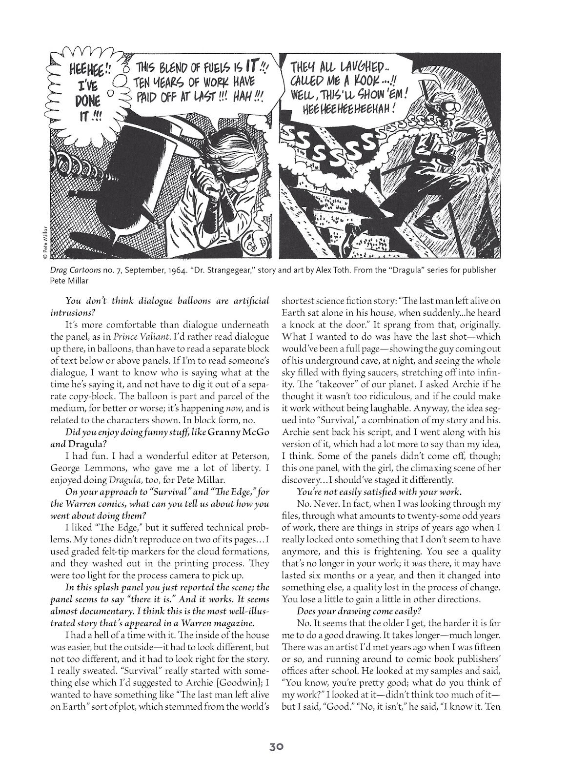 Read online Setting the Standard: Comics by Alex Toth 1952-1954 comic -  Issue # TPB (Part 1) - 29