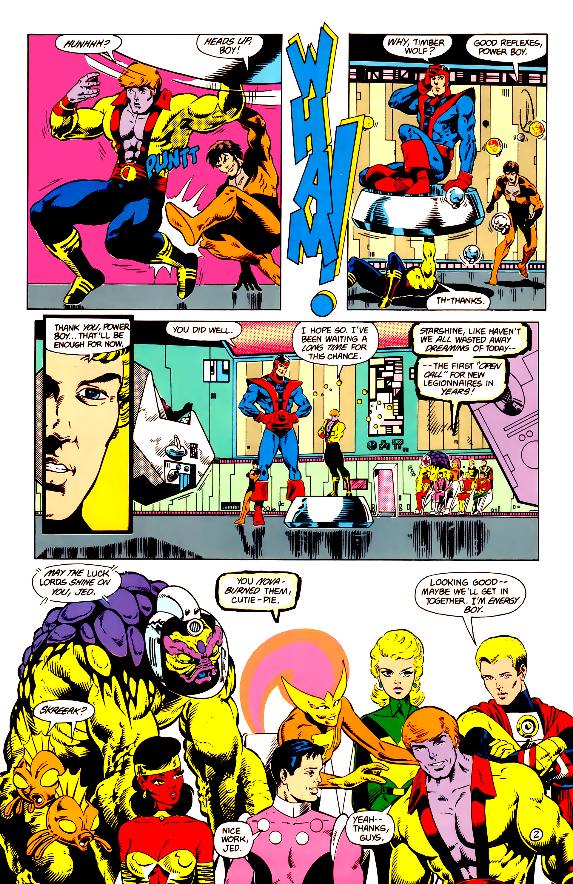 Legion of Super-Heroes (1984) 14 Page 3