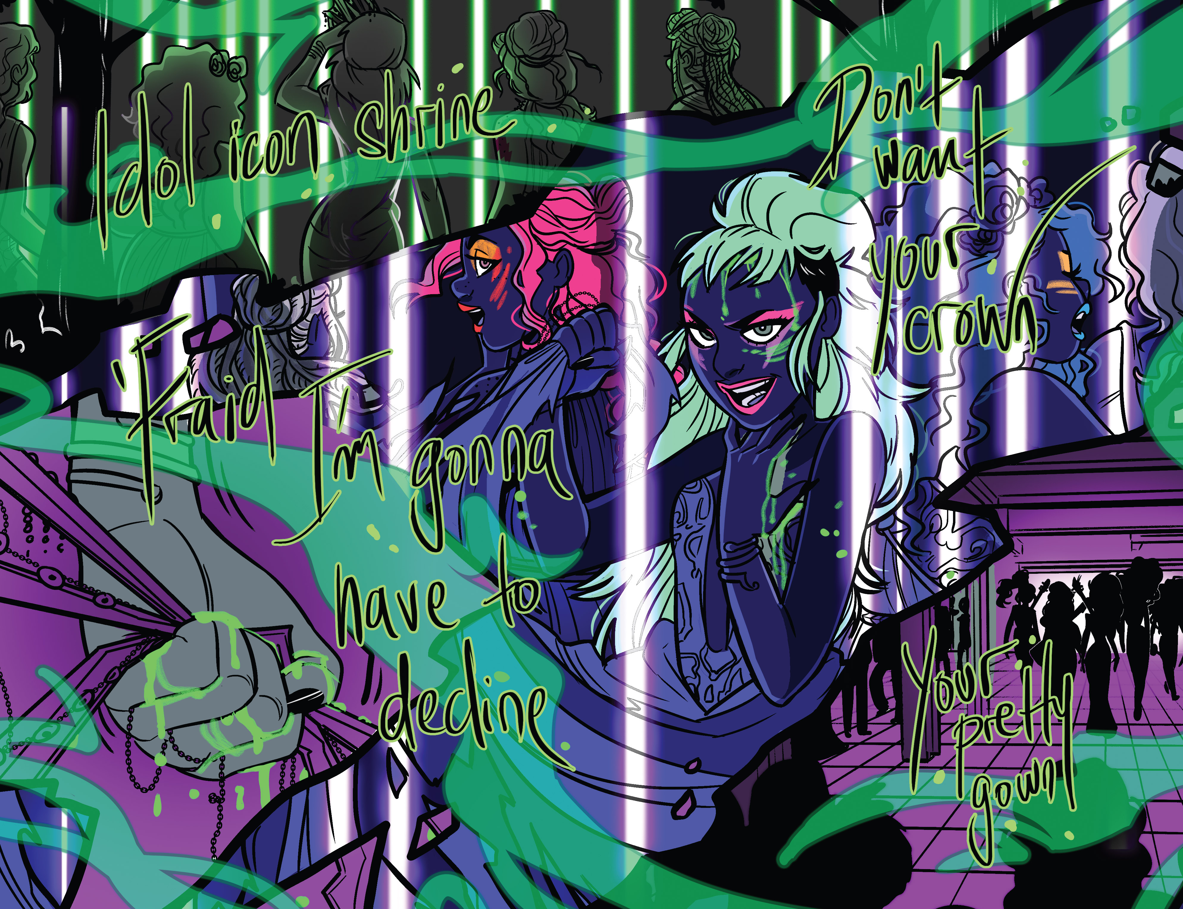 Read online Jem: The Misfits comic -  Issue #5 - 20