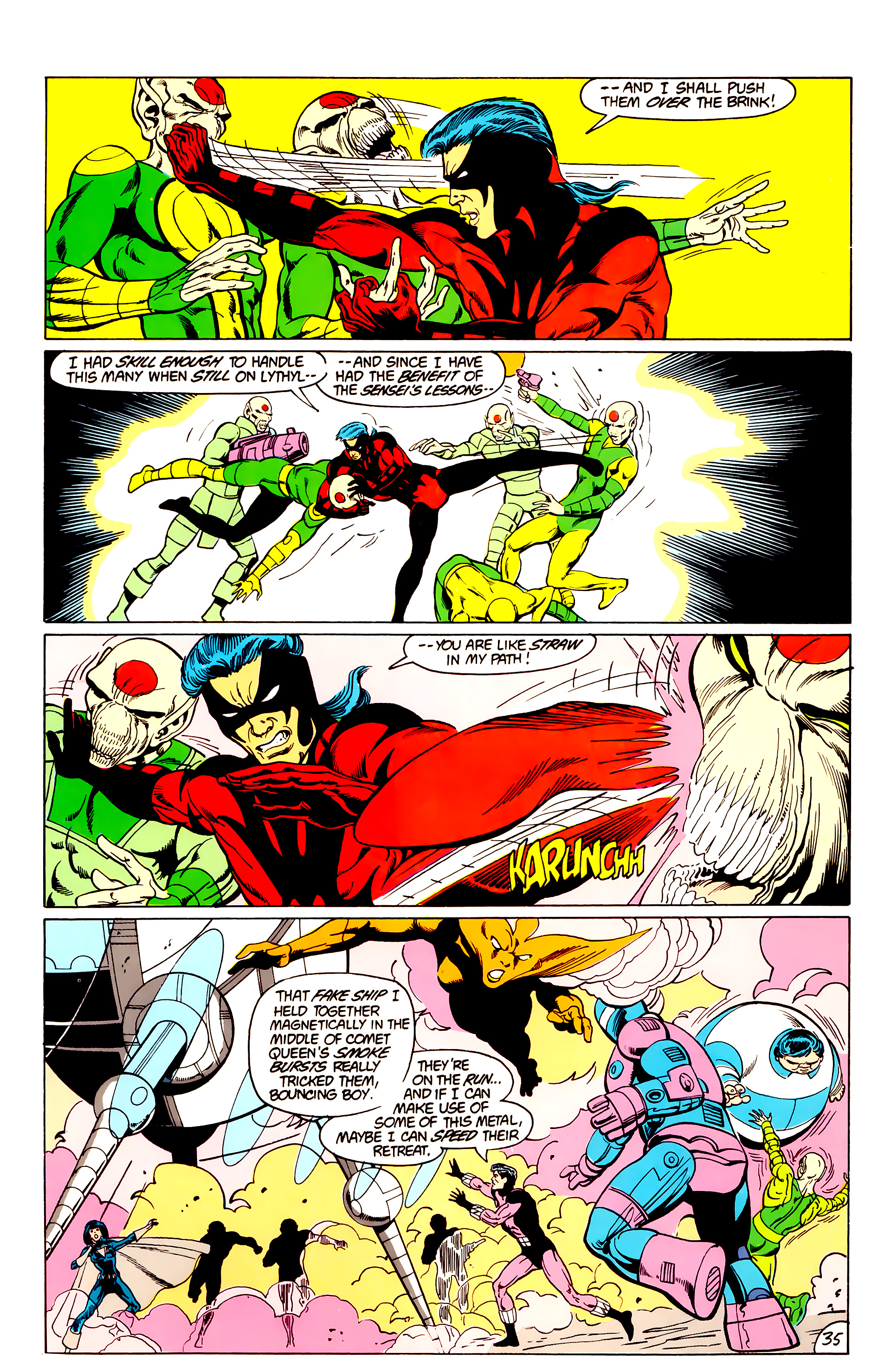 Legion of Super-Heroes (1984) _Annual_3 Page 35