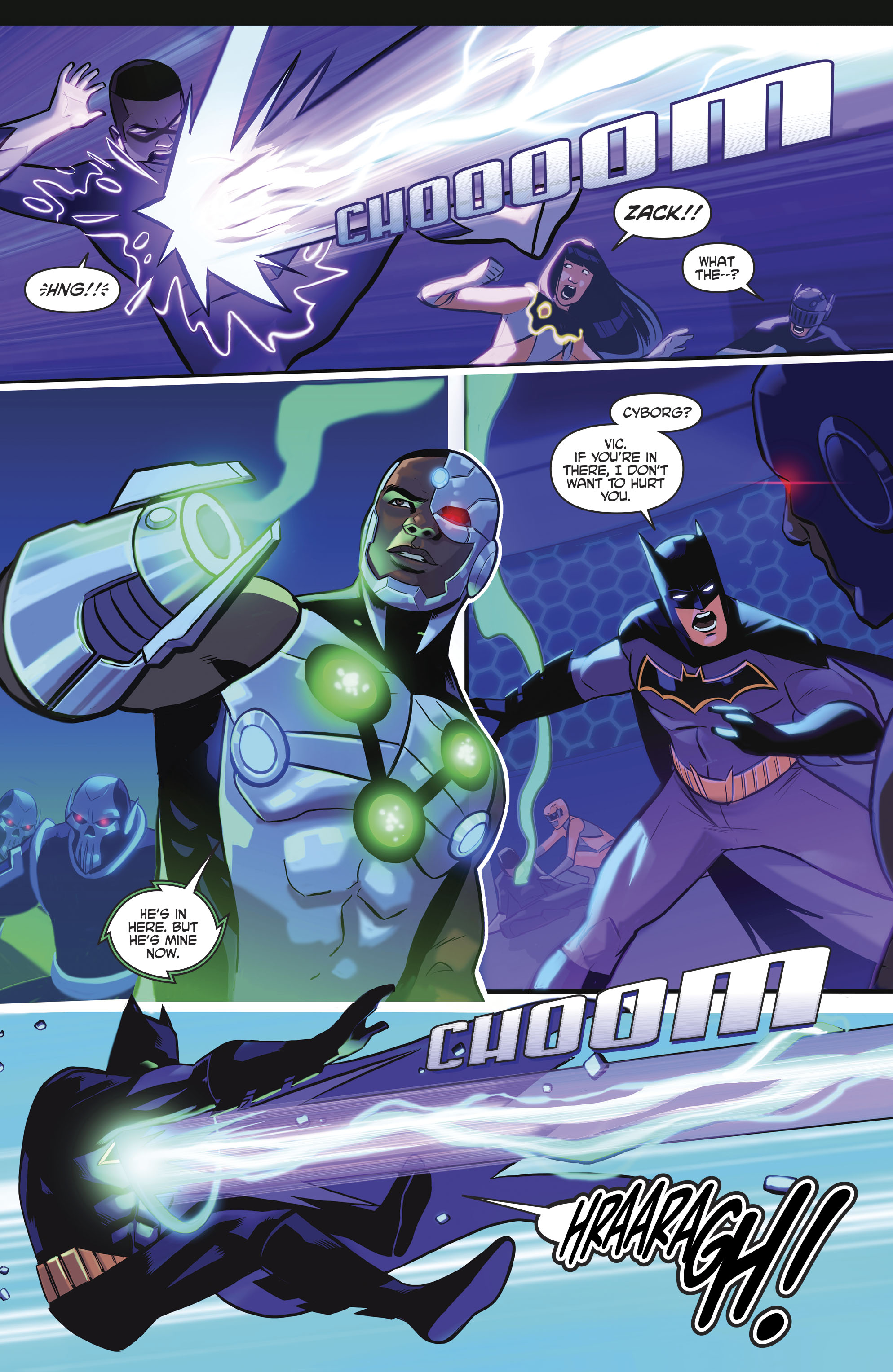 Read online Justice League/Mighty Morphin' Power Rangers comic -  Issue #4 - 22