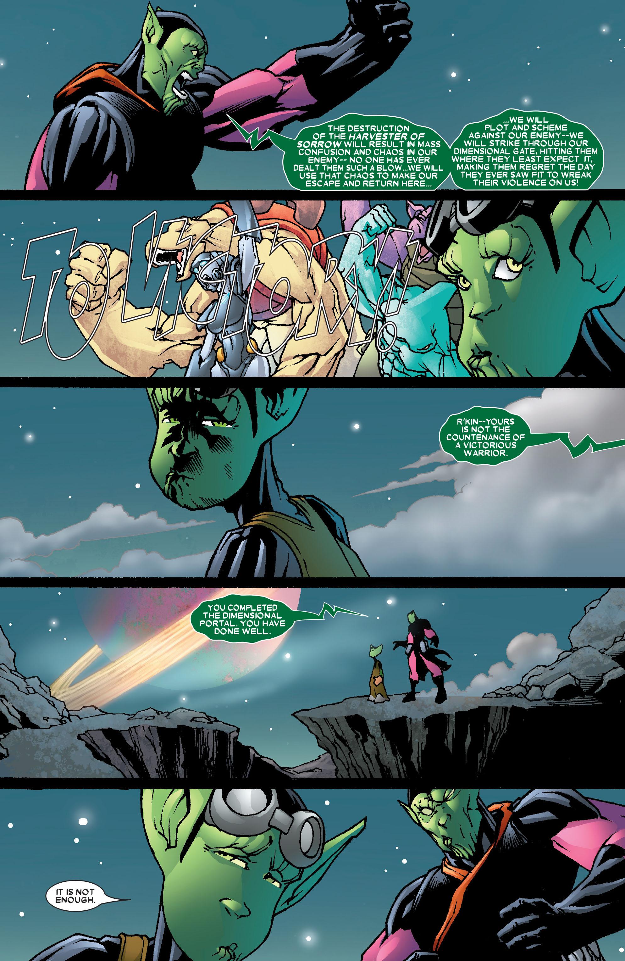 Read online Annihilation: Super-Skrull comic -  Issue #3 - 13