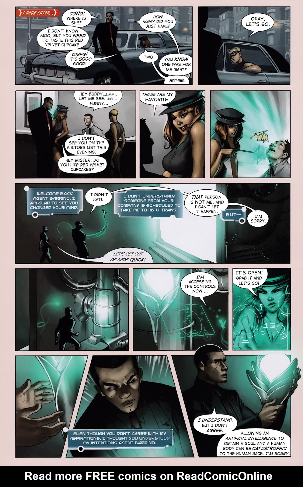Read online Vescell comic -  Issue #3 - 4