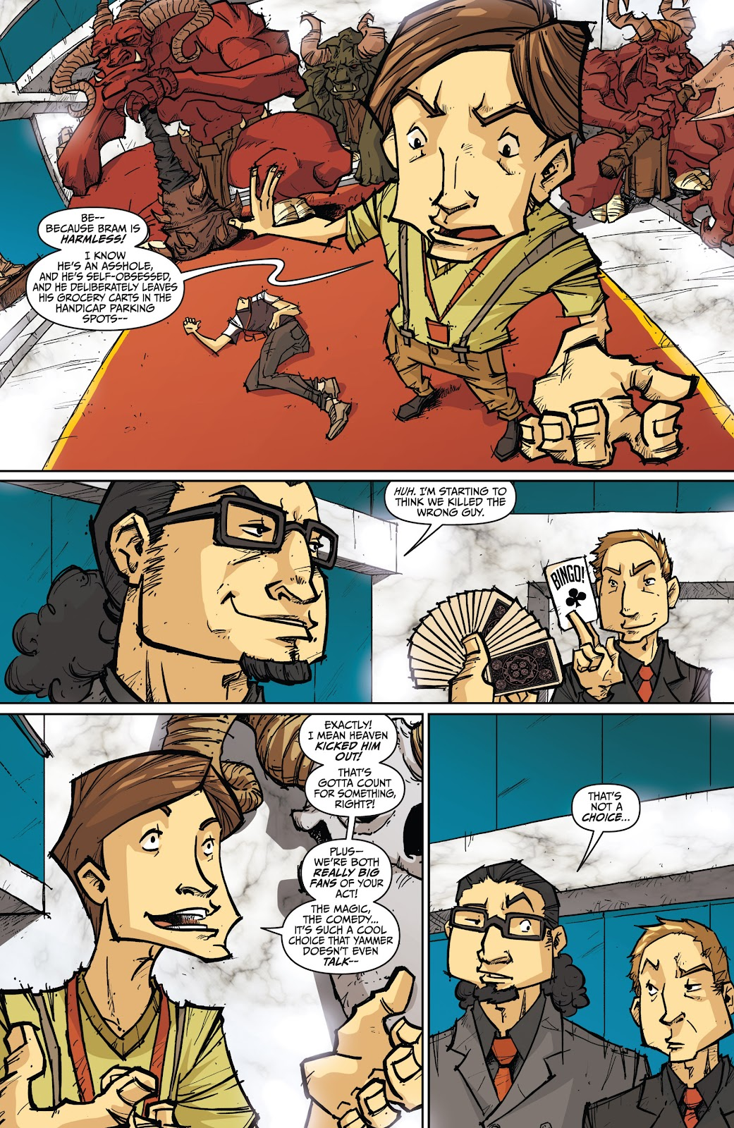 Read online The End Times of Bram and Ben comic -  Issue #4 - 4