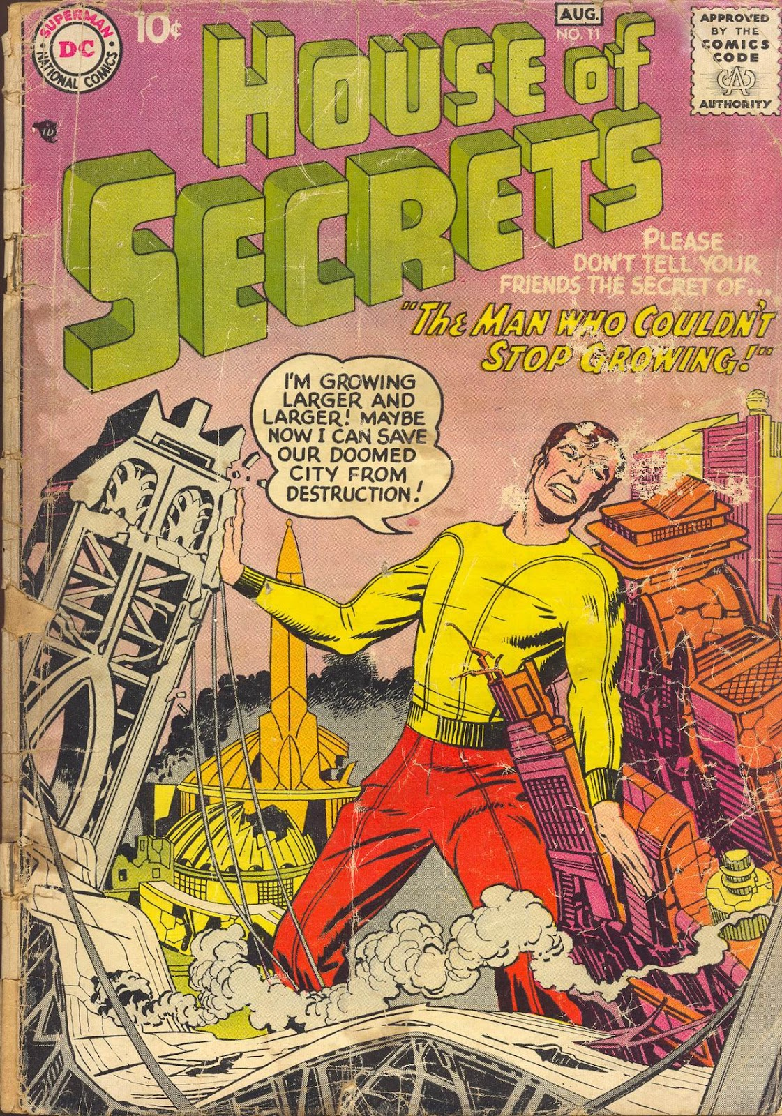 House of Secrets (1956) issue 11 - Page 1