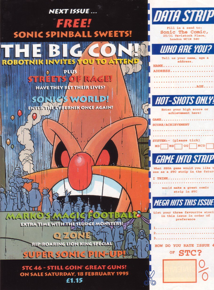 Read online Sonic the Comic comic -  Issue #45 - 32