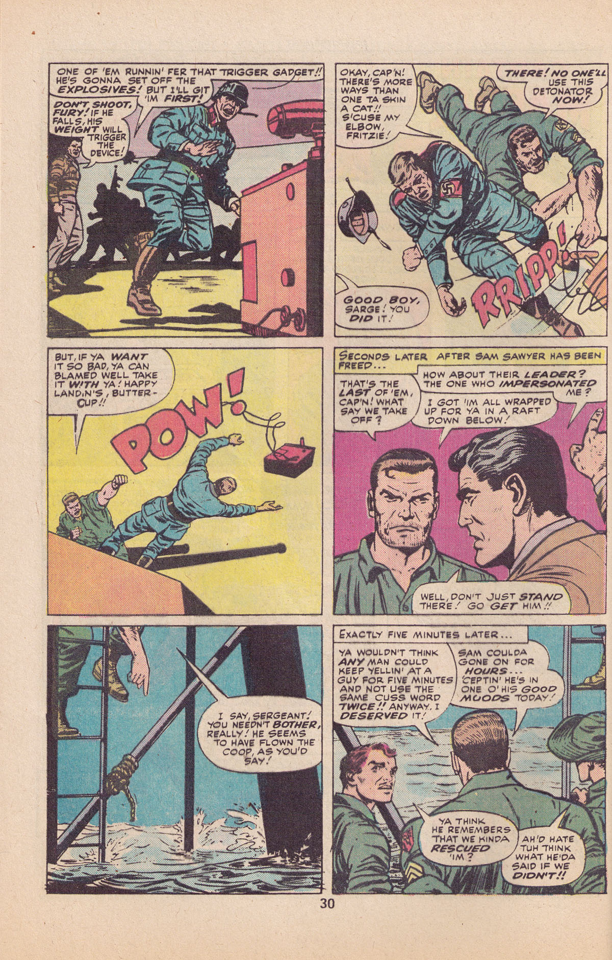 Read online Sgt. Fury comic -  Issue #127 - 32