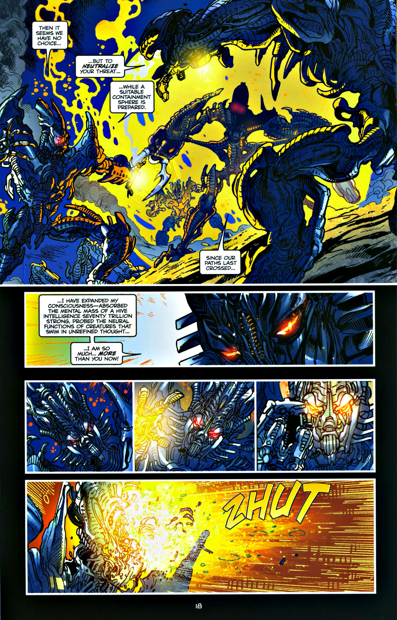 Read online Transformers: Tales of The Fallen comic -  Issue #4 - 19